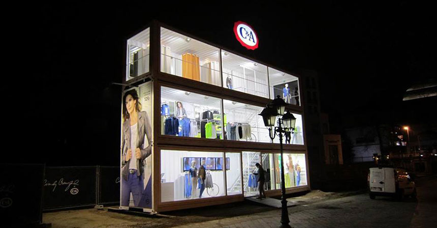 Shipping Container Storefront